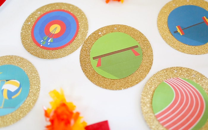 """Party details from a """"Go 4 Gold"""" Olympics Party on Kara's Party Ideas 