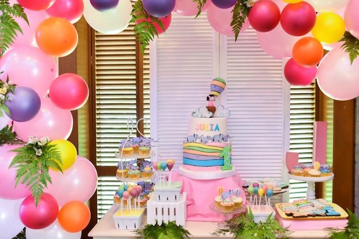 """Oh the Places You'll Go"" Dr. Seuss Birthday Party on Kara's Party Ideas | KarasPartyIdeas.com (32)"