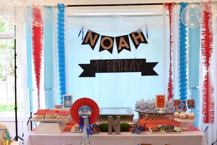 Airplane Birthday Party via Kara's Party Ideas KarasPartyIdeas.com (30)