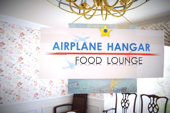 Airplane Hanger food table from a Airplane Birthday Party via Kara's Party Ideas KarasPartyIdeas.com (20)