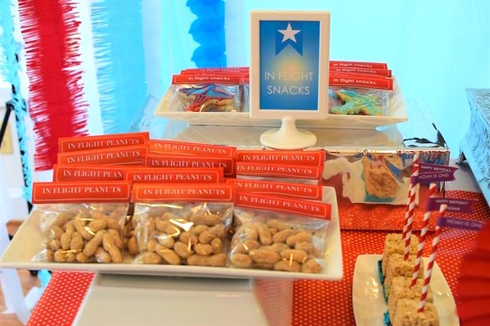 In-Flight Snacks from a Airplane Birthday Party via Kara's Party Ideas KarasPartyIdeas.com (36)