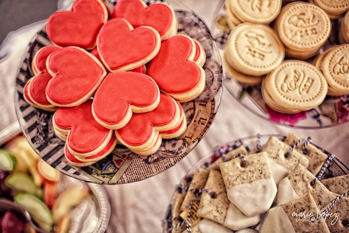Cookies from an Alice in Wonderland Birthday Party via Kara's Party Ideas | KarasPartyIdeas.com (36)