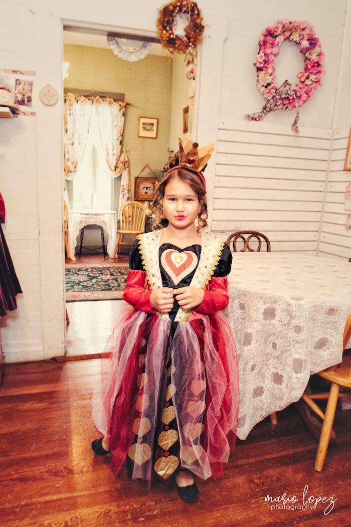 Queen of Hearts from an Alice in Wonderland Birthday Party via Kara's Party Ideas | KarasPartyIdeas.com (33)