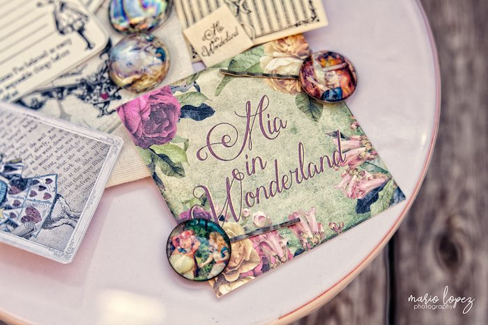 Mia in Wonderland Print from an Alice in Wonderland Birthday Party via Kara's Party Ideas | KarasPartyIdeas.com (15)