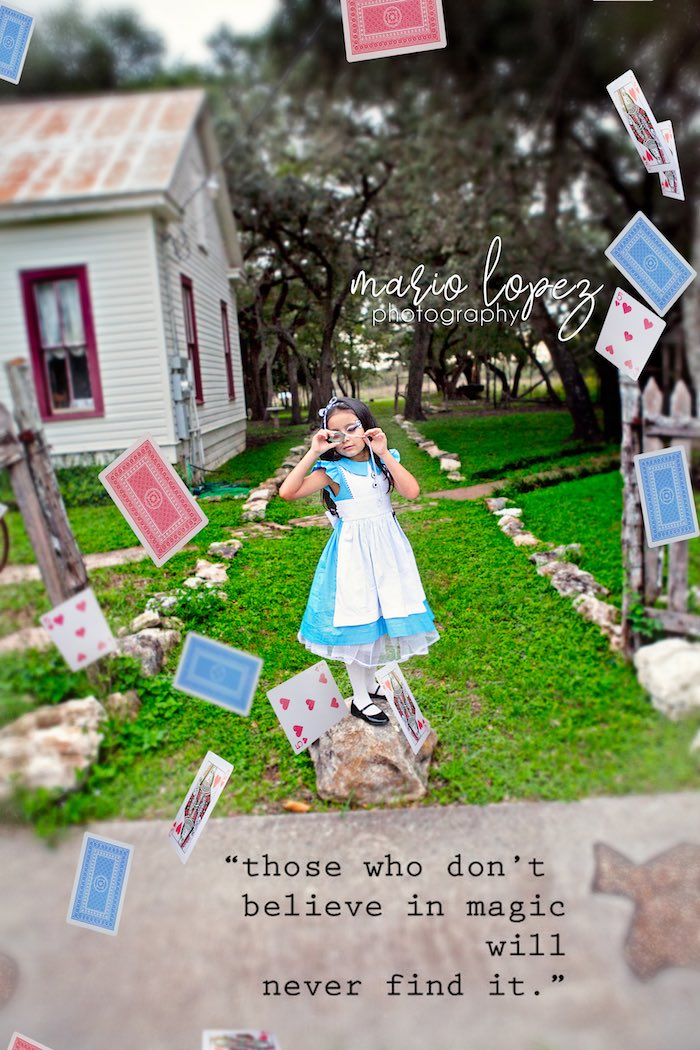 Alice in Wonderland Birthday Party via Kara's Party Ideas | KarasPartyIdeas.com (9)