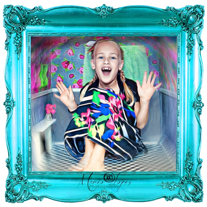 Photo booth from an Alice in Wonderland Birthday Party via Kara's Party Ideas | KarasPartyIdeas.com (5)