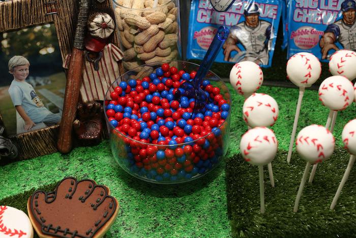 Sweets from a Baseball + Yankees Inspired Birthday Party via Kara's Party Ideas | KarasPartyIdeas.com (22)