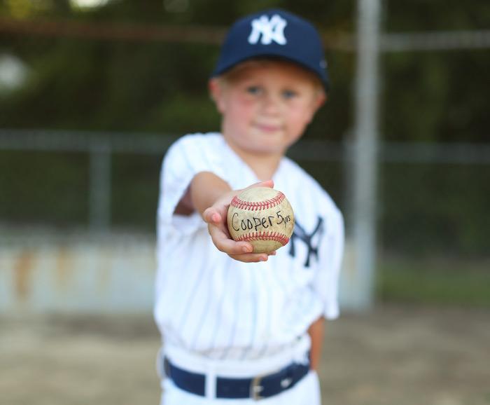 Baseball + Yankees Inspired Birthday Party via Kara's Party Ideas | KarasPartyIdeas.com (6)
