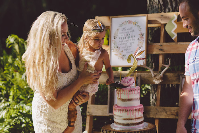 Boho Baby Pow Wow Party via Kara's Party Ideas | KarasPartyIdeas.com (5)
