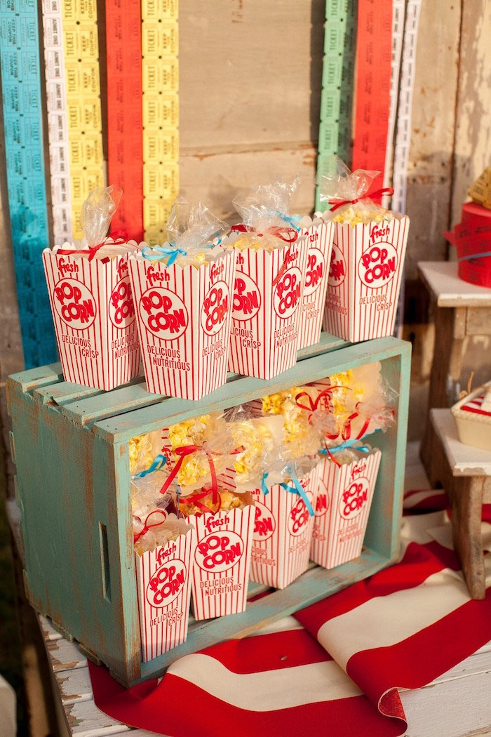 Party Bags~3 Each Of Peanut-Popcorn-Pickle-/& Cookie~Circus//12 Party Bags