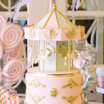 Carousel of Dreams Birthday Party via Kara's Party Ideas | KarasPartyIdeas.com (1)