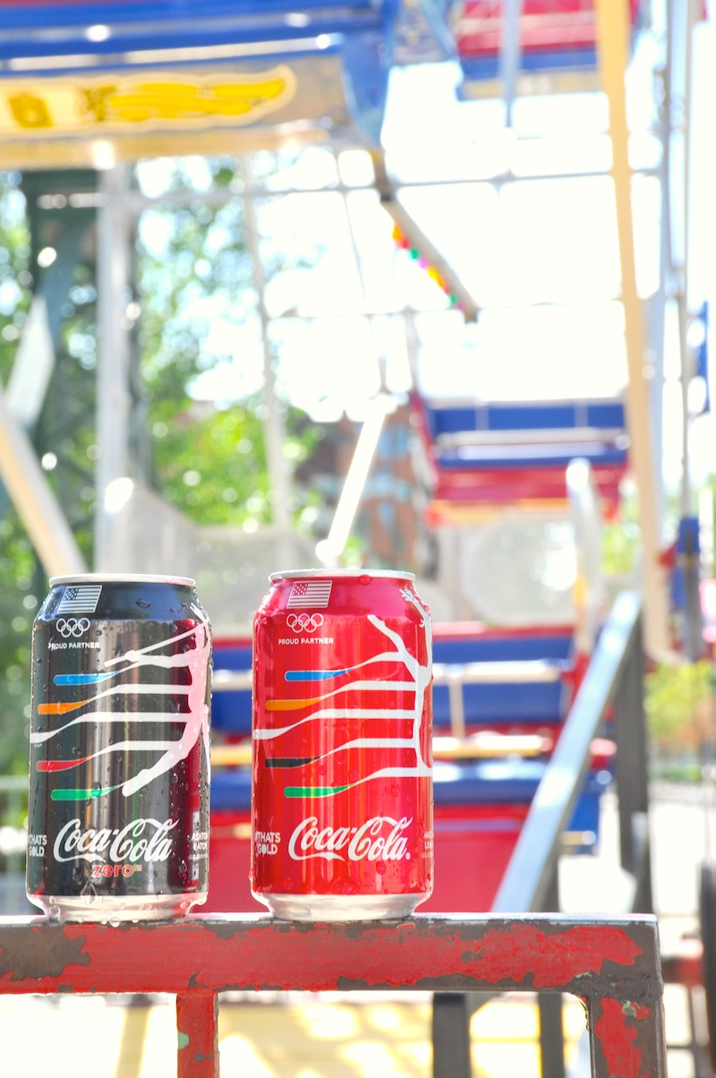 #ThatsGold Crystal + Gold Coca-Cola Bottle Giveaway for the 2016 Summer Rio Olympic Games via Kara's Party Ideas!