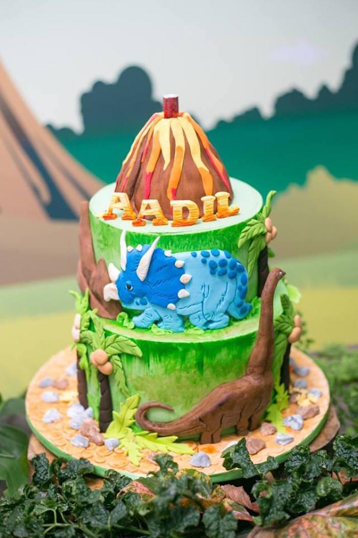 Dinosaur Birthday Theme Ideas Image Inspiration of Cake and