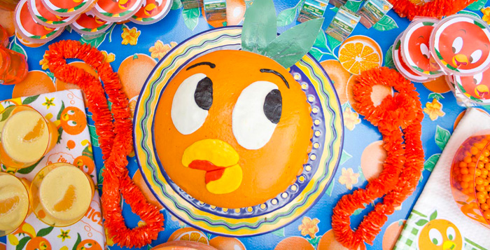 Disney's Orange Bird Birthday Pool Party via Kara's Party Ideas KarasPartyIdeas.com (1)