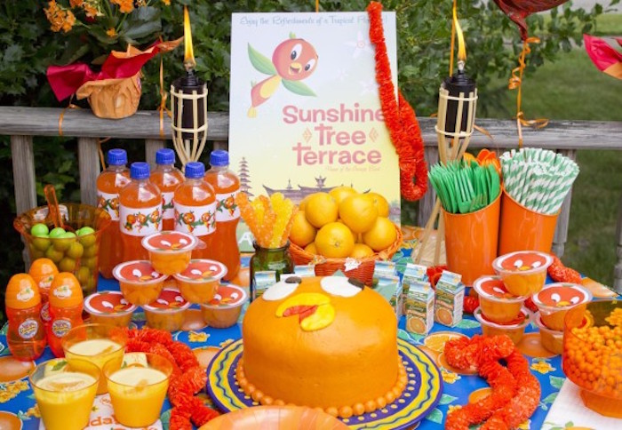 kara s party ideas disney s orange bird birthday pool party kara s