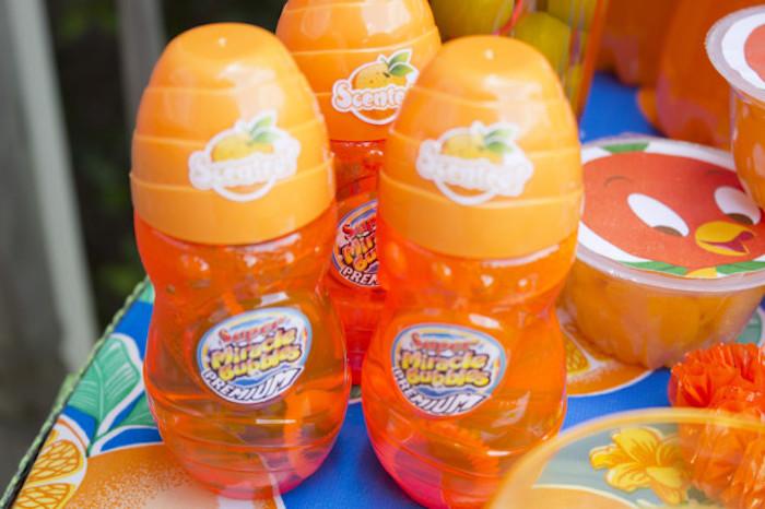 Bubbles from a Disney's Orange Bird Birthday Pool Party via Kara's Party Ideas KarasPartyIdeas.com (9)