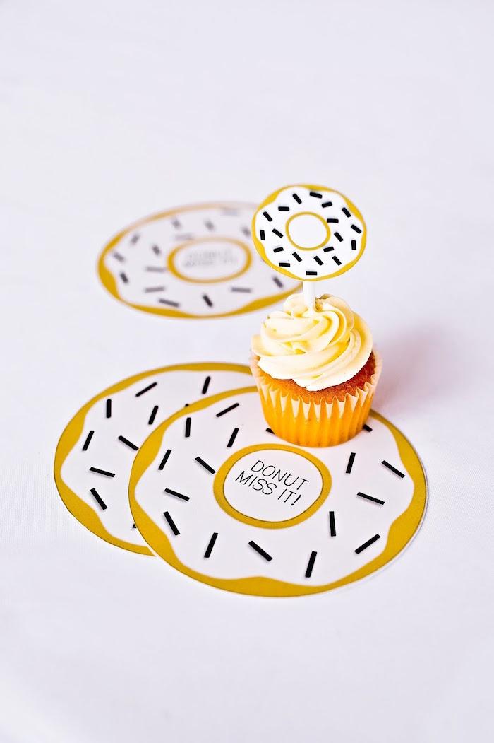 Donut Party Invitation from a Donut Birthday Bash on Kara's Party Ideas | KarasPartyIdeas.com (3)