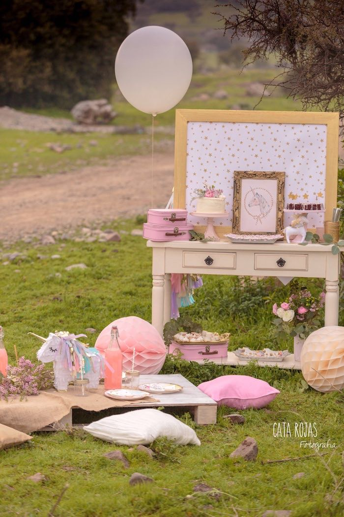 Dreamy Unicorn Birthday Party on Kara's Party Ideas | KarasPartyIdeas.com (20)