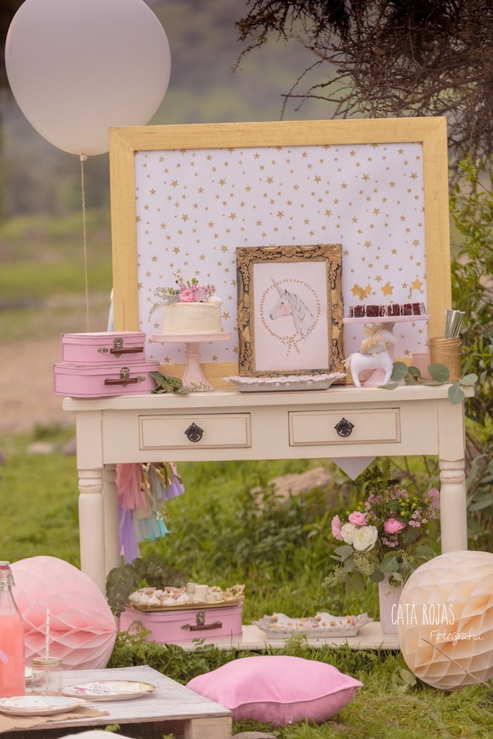 Dreamy Unicorn Birthday Party on Kara's Party Ideas | KarasPartyIdeas.com (17)