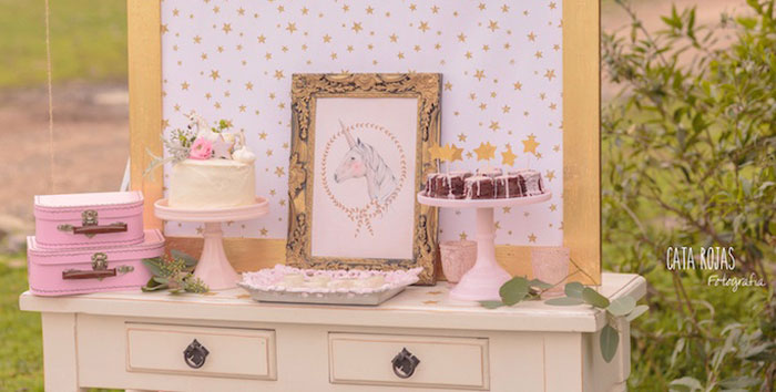 Dreamy Unicorn Birthday Party on Kara's Party Ideas | KarasPartyIdeas.com (1)