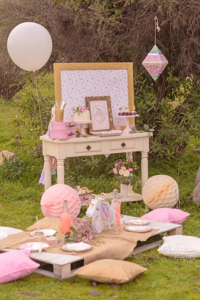 Dreamy Unicorn Birthday Party on Kara's Party Ideas | KarasPartyIdeas.com (30)