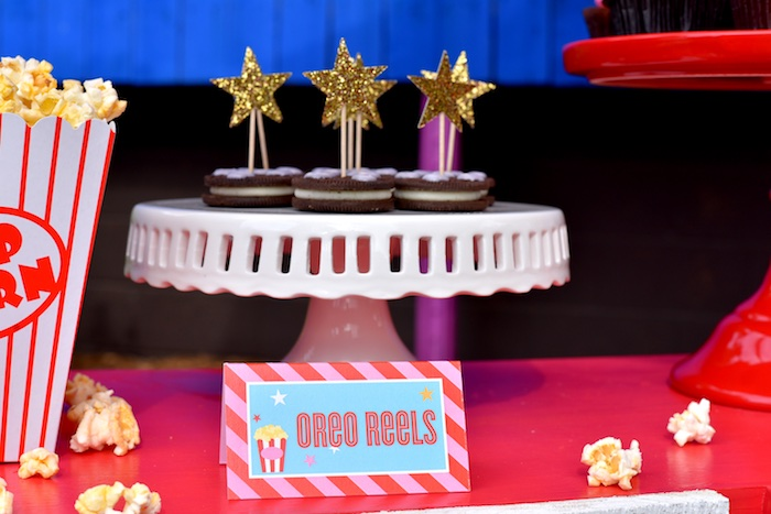 Oreos from a Drive In Movie Night Birthday Party via Kara's Party Ideas   KarasPartyIdeas.com (19)
