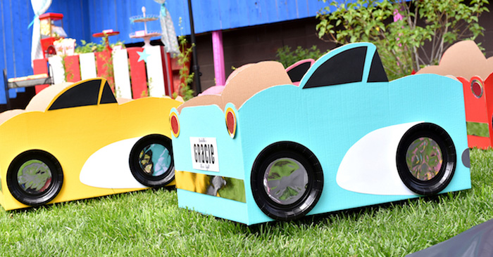 Drive In Movie Night Birthday Party via Kara's Party Ideas | KarasPartyIdeas.com (1)