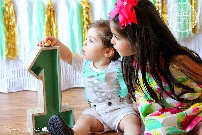 "Block number ""1"" from an Elegant Baby Lion Birthday Party via Kara's Party Ideas | KarasPartyIdeas.com (7)"