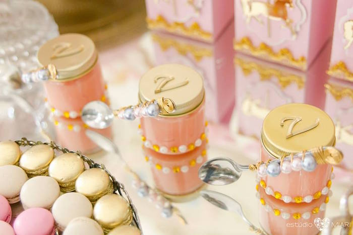 Favor jars from an Enchanted Carousel Birthday Party on Kara's Party Ideas | KarasPartyIdeas.com (22)