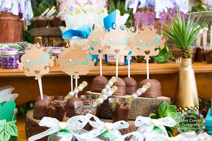 Sweets from a Fairy Garden Birthday Party on Kara's Party Ideas | KarasPartyIdeas.com (42)