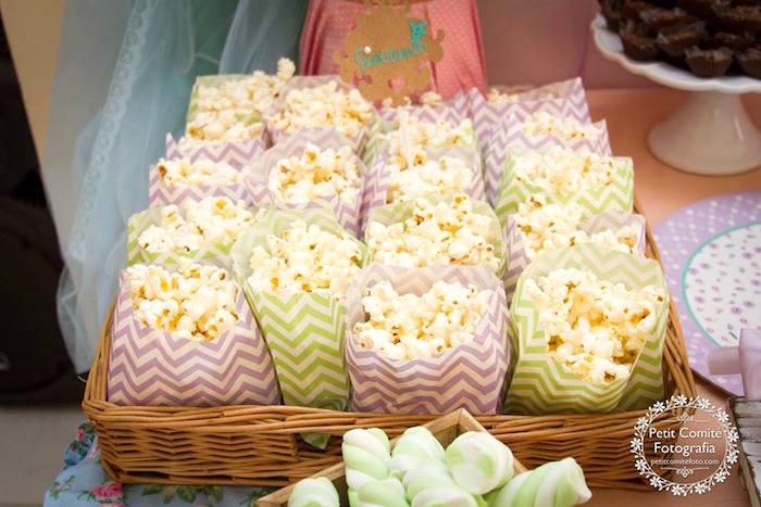 Popcorn from a Fairy Garden Birthday Party on Kara's Party Ideas | KarasPartyIdeas.com (40)