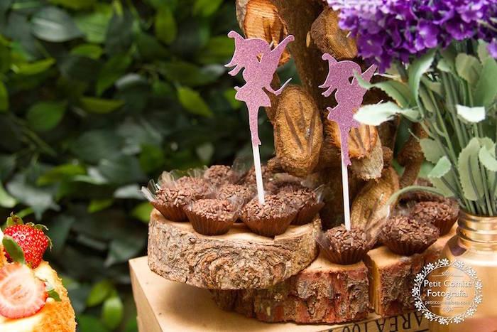 Brigadeiros from a Fairy Garden Birthday Party on Kara's Party Ideas | KarasPartyIdeas.com (38)