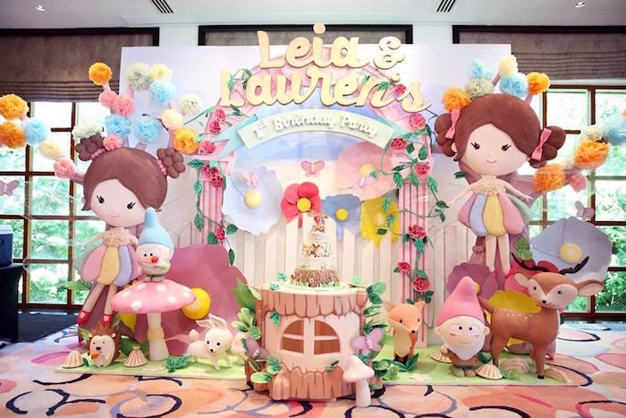 Fairy Garden Birthday Party on KarasPartyIdeas.com! Don't miss it! (15)
