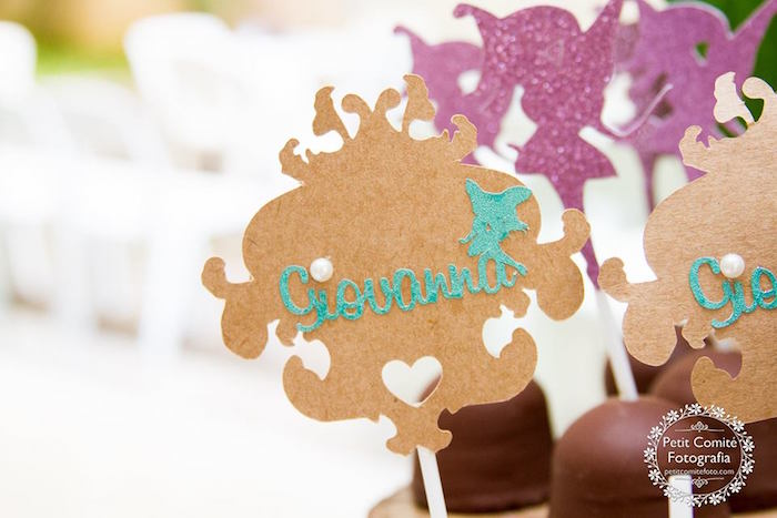 Sweet label picks from a Fairy Garden Birthday Party on Kara's Party Ideas | KarasPartyIdeas.com (34)