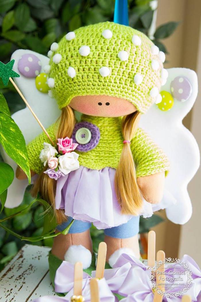 Fairy from a Fairy Garden Birthday Party on Kara's Party Ideas | KarasPartyIdeas.com (16)