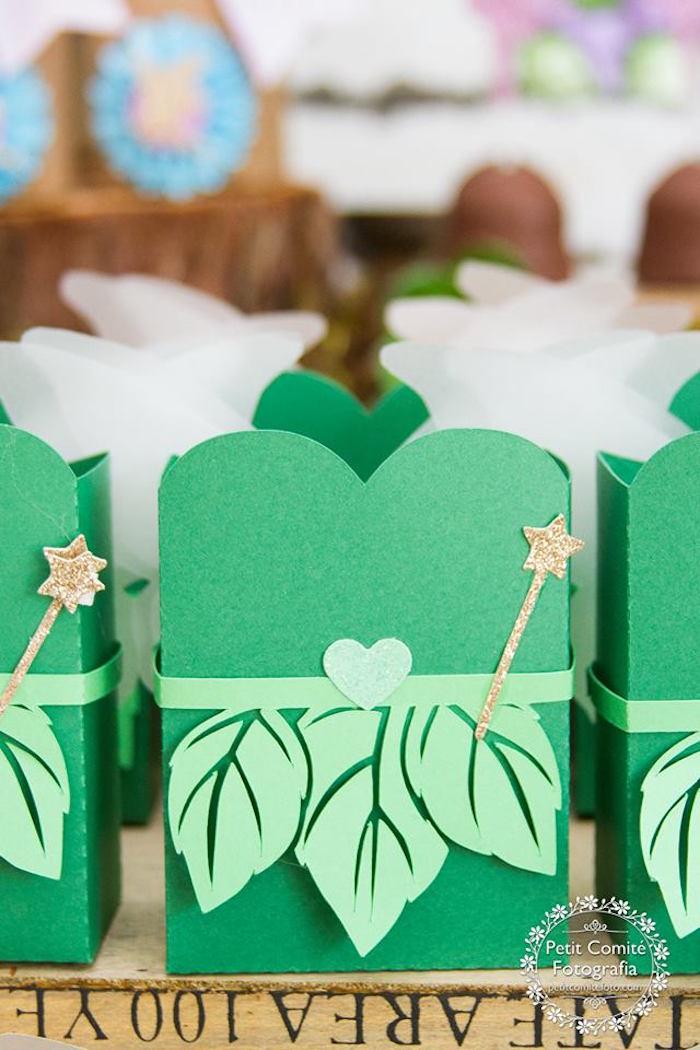 Fairy favor box from a Fairy Garden Birthday Party on Kara's Party Ideas | KarasPartyIdeas.com (14)