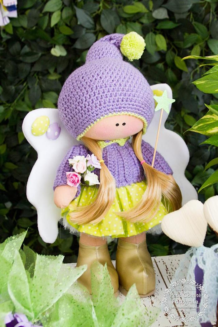 Fairy from a Fairy Garden Birthday Party on Kara's Party Ideas | KarasPartyIdeas.com (5)