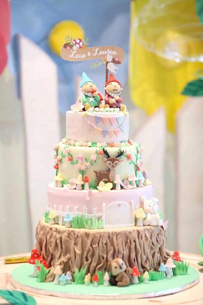 Kara 39 s party ideas fairy garden birthday party kara 39 s for Fairy garden birthday cake designs