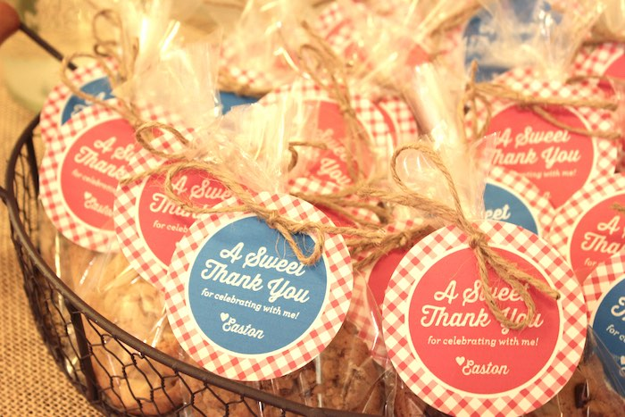 Favors from a Farmers Market 1st Birthday Party on Kara's Party Ideas | KarasPartyIdeas.com (24)