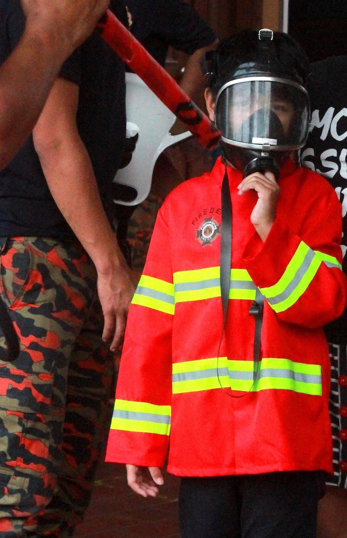 Little Fireman from a Firefighter Birthday Party via Kara's Party Ideas | KarasPartyIdeas.com (13)