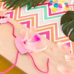 Flocks of Flamingos Birthday Party via Kara's Party Ideas | KarasPartyIdeas.com (1)