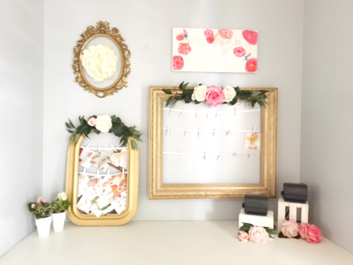 Marvelous Floral Wall Decor From A Floral St Birthday Party Via Kara Us  Party Ideas KarasPartyIdeas