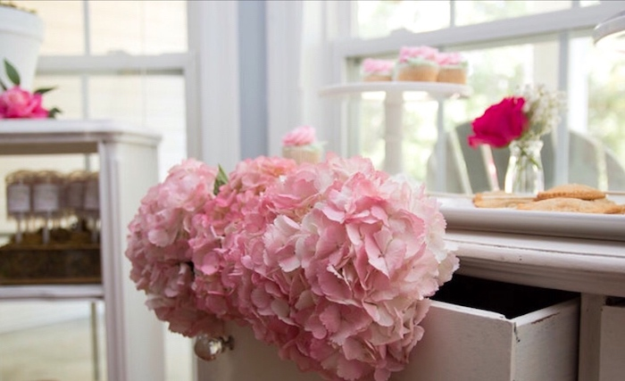 Blooms from a Floral 1st Birthday Party via Kara's Party Ideas | KarasPartyIdeas.com (8)