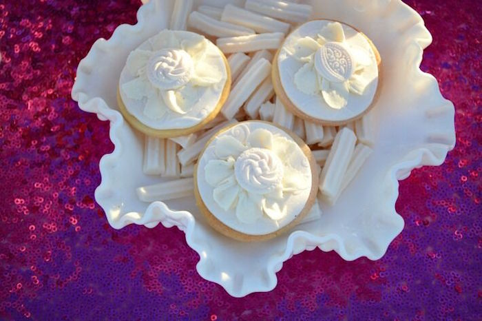 Cookies from a Floral Bohemian Sunset Party on Kara's Party Ideas | KarasPartyIdeas.com (22)