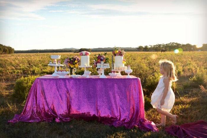 Floral Bohemian Sunset Party on Kara's Party Ideas | KarasPartyIdeas.com (20)