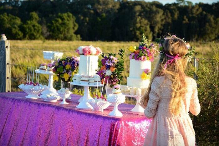 Floral Bohemian Sunset Party on Kara's Party Ideas | KarasPartyIdeas.com (28)