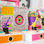 Girls Just Wanna Have Fun 80's Rock & Roll Birthday Party via Kara's Party Ideas KarasPartyIdeas.com (1)