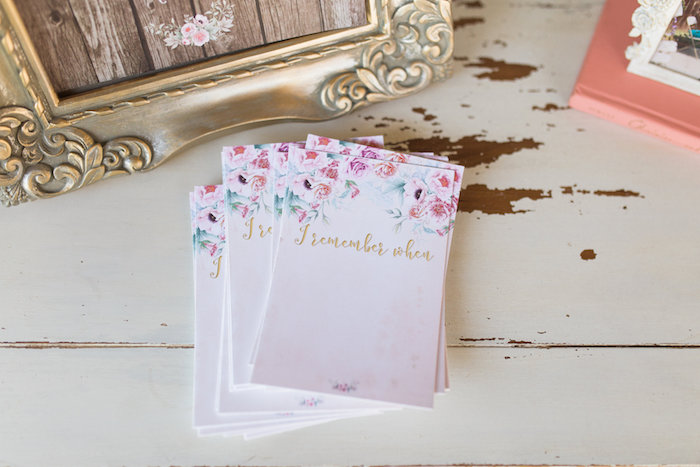 Stationery from a Glamorous 70th Birthday Party on Kara's Party Ideas | KarasPartyIdeas.com (23)
