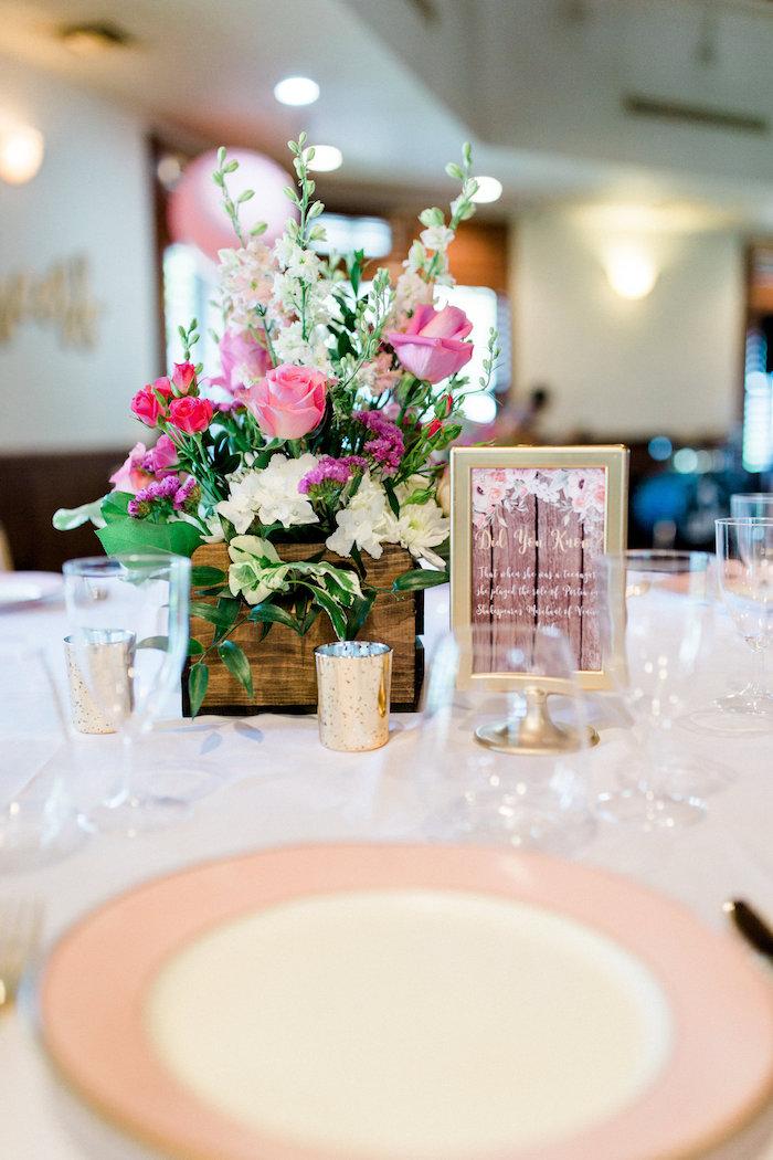 Dining table from a Glamorous 70th Birthday Party on Kara's Party Ideas   KarasPartyIdeas.com (44)