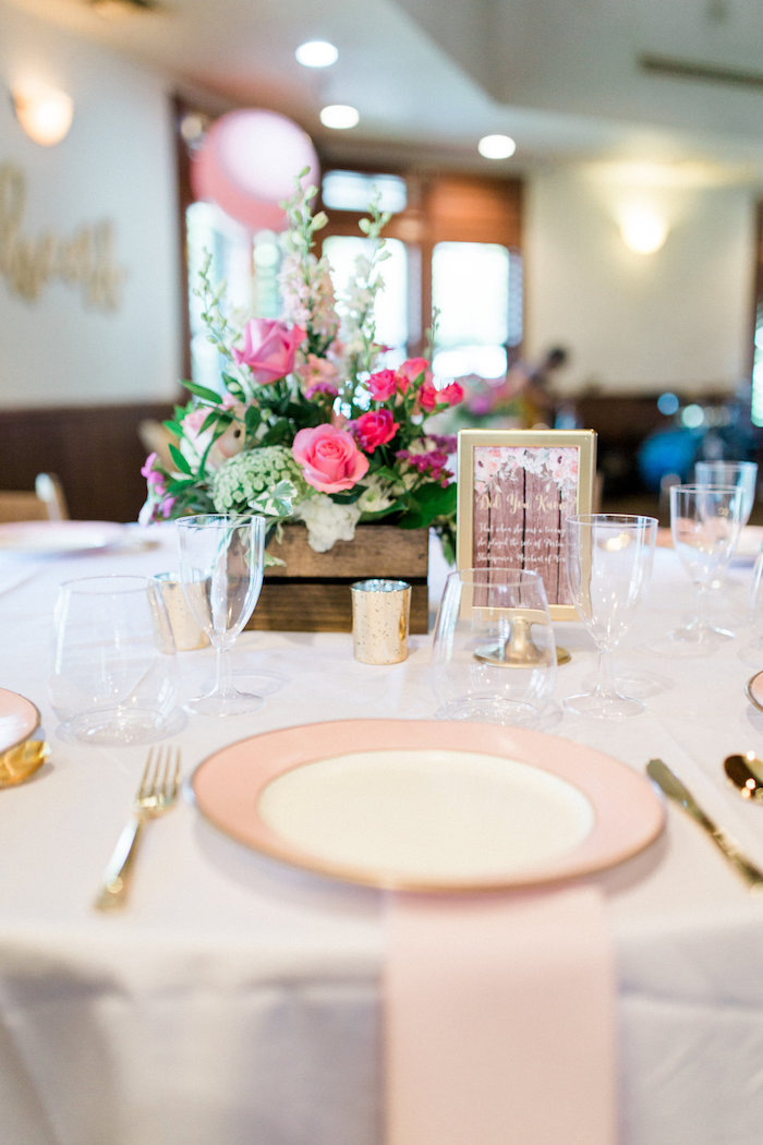 Place Setting From A Glamorous 70th Birthday Party On Karas Ideas